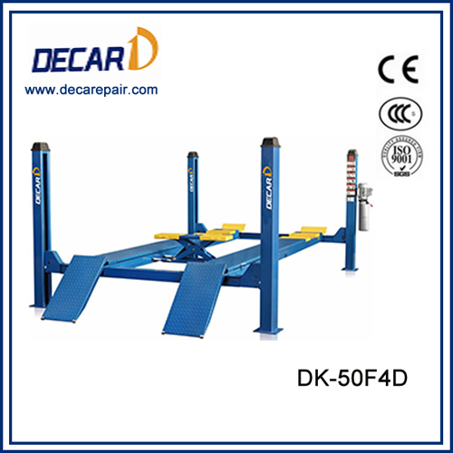 Car workshop used wheel alignment lift for sale