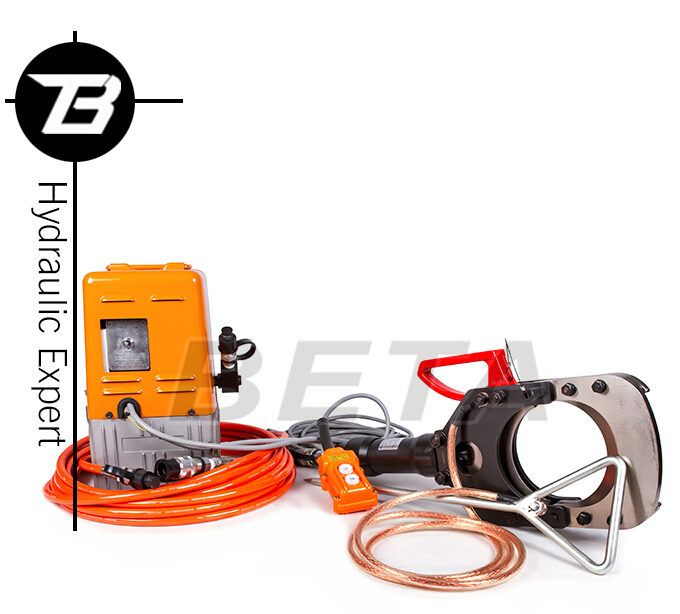 Hydraulic Insulated Cutter with Electric Pump