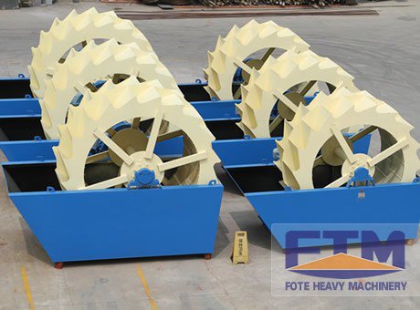 Efficient Sand Washer/Clay Sand Washer