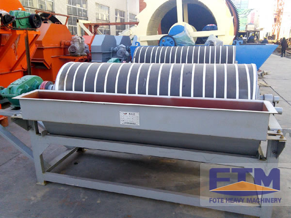 Electric Magnetic Iron Separator/Double Drum Magnetic Separator