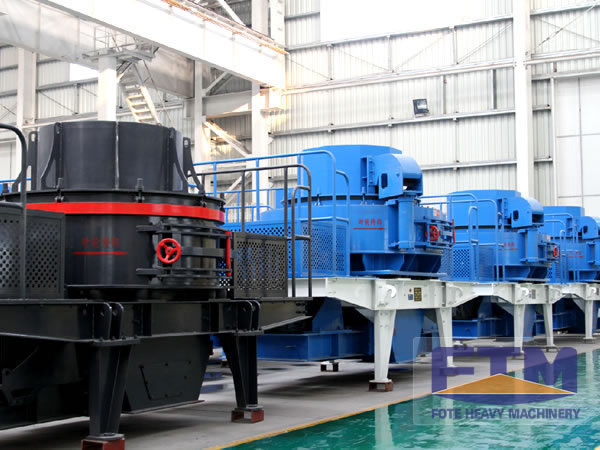 Mine Sand Making Machine/Sand Make Crusher Machinery