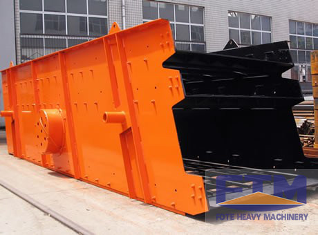 Gravel Mining Vibrating Screen/Horizontal Vibrating Screen