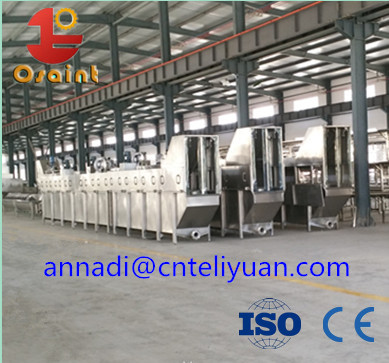 Poultry equipment slaughter equipment screw chiller plucker
