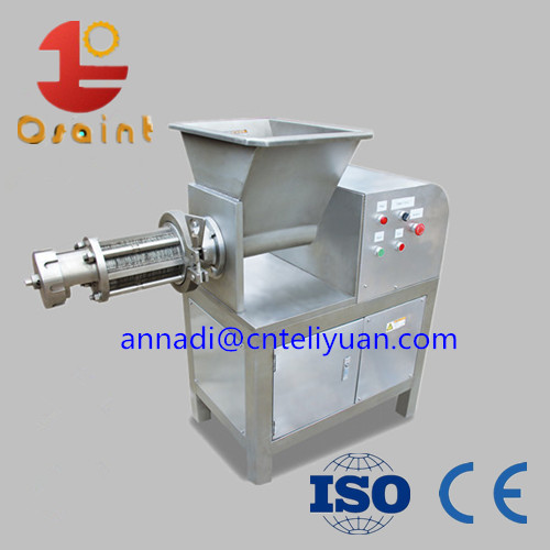 Fish meat deboning machine