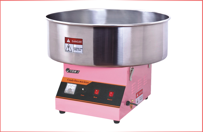 Professional Commercial Electric Gas Cotton Candy Floss Machine