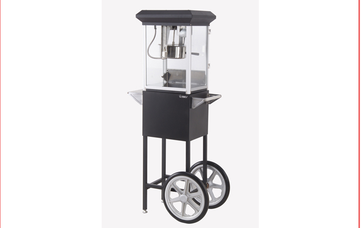 New Product Movable Popcorn Machine
