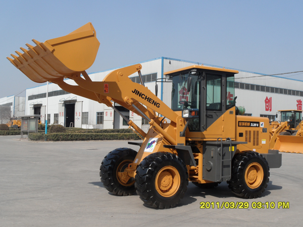 2 Ton mini loader capacity loader