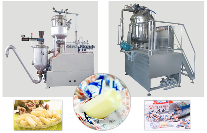 Central-filled Soft Candy/ Toffee Candy Production Line