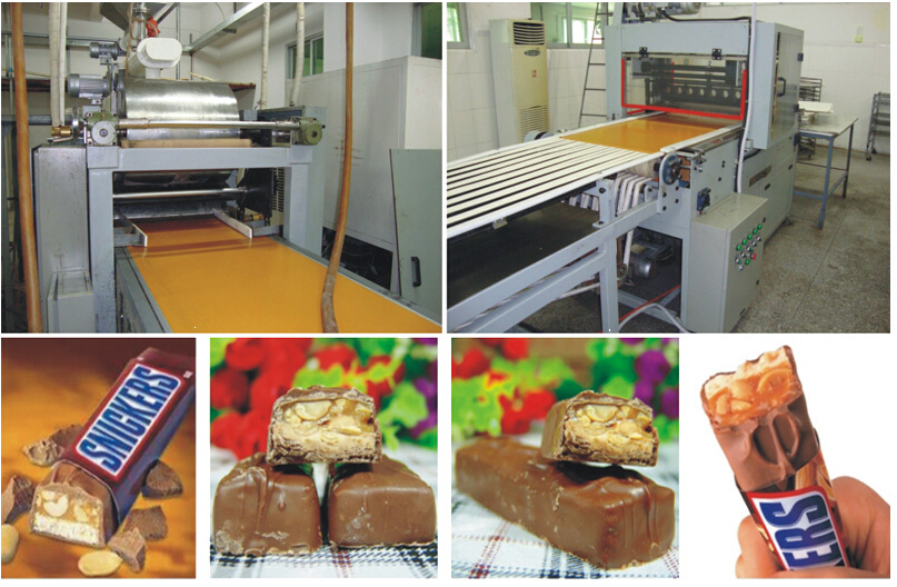 Fully-automatic Compound Sugar Bars Foemaing Line