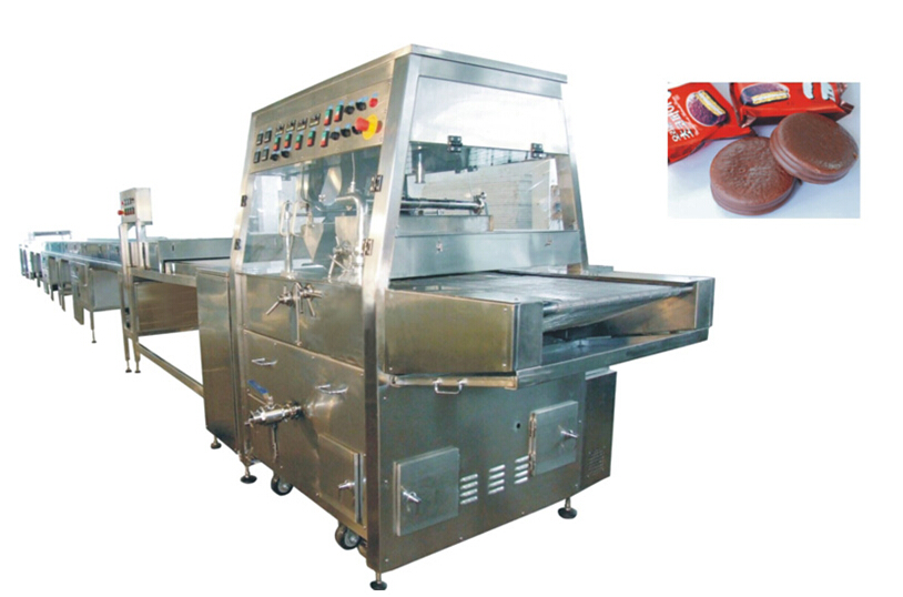 Chocolate Coating/ Enrobing Machine