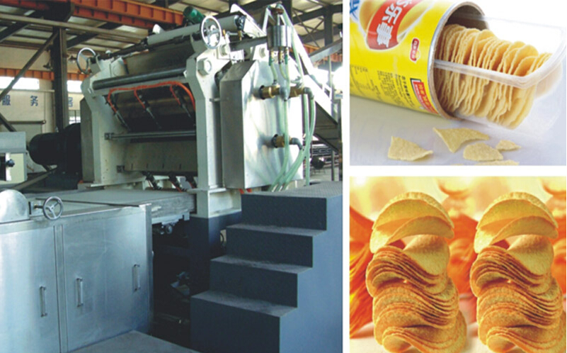 Large and Medium Sized Compound Potato-chips Production Line