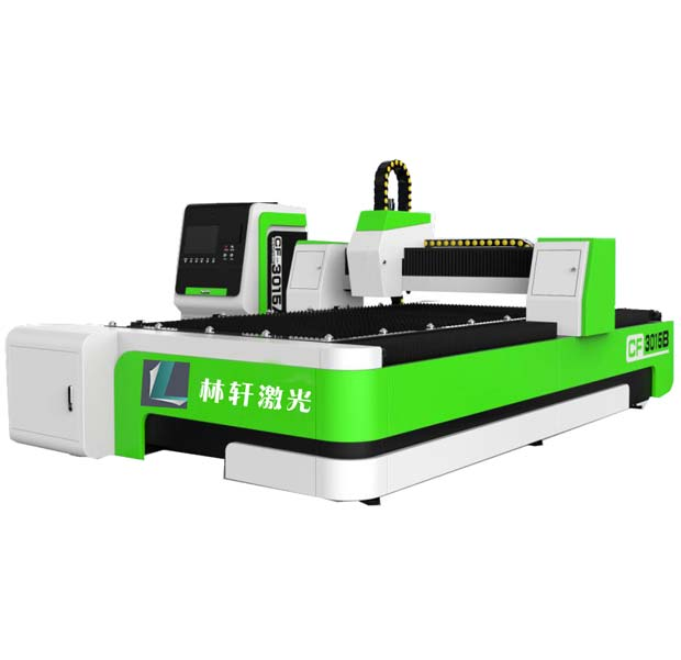 LX-F1 double drive fiber laser cutting machine
