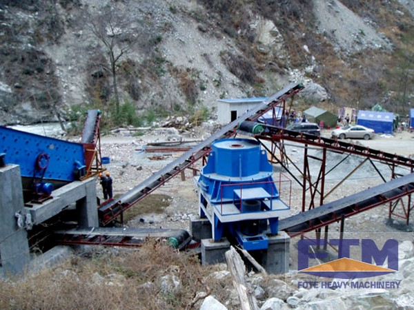 Limestone Sand Making Machines Plant/Sand Making Plant In India