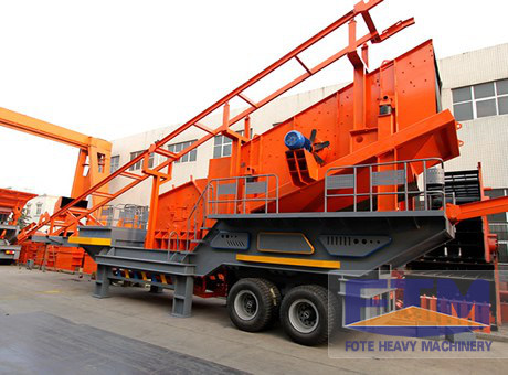 Mobile Crusher Plant For Sale/Mobile Crushing Machine Prices