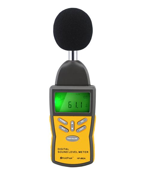 Звукомер-HP-882A- цифровой звукомер