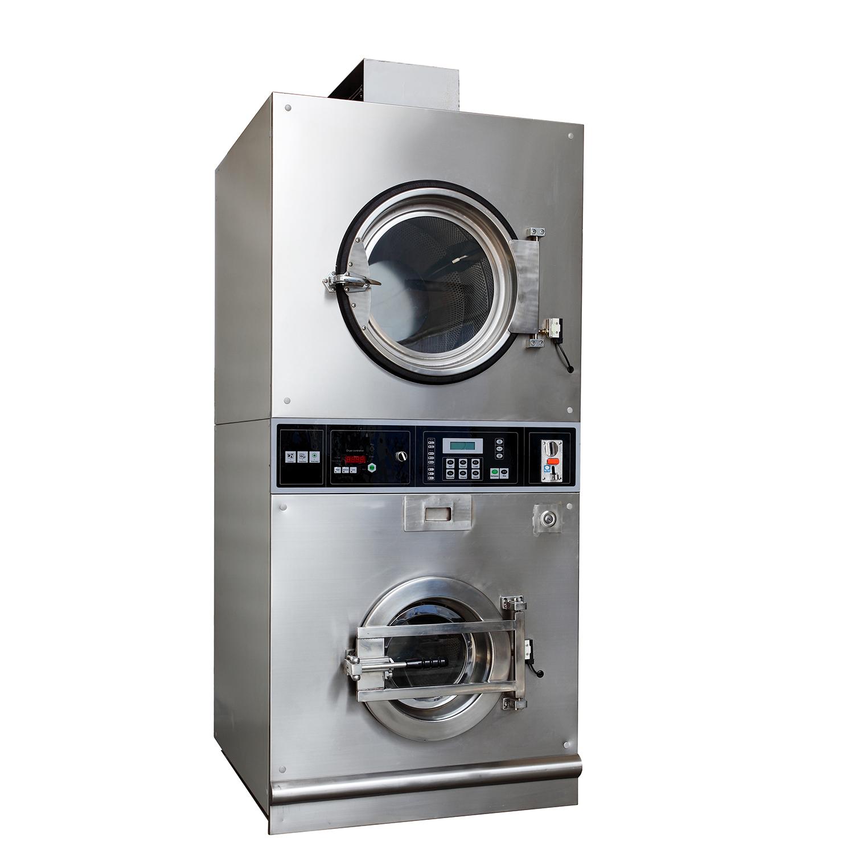 堆叠式洗衣烘干机