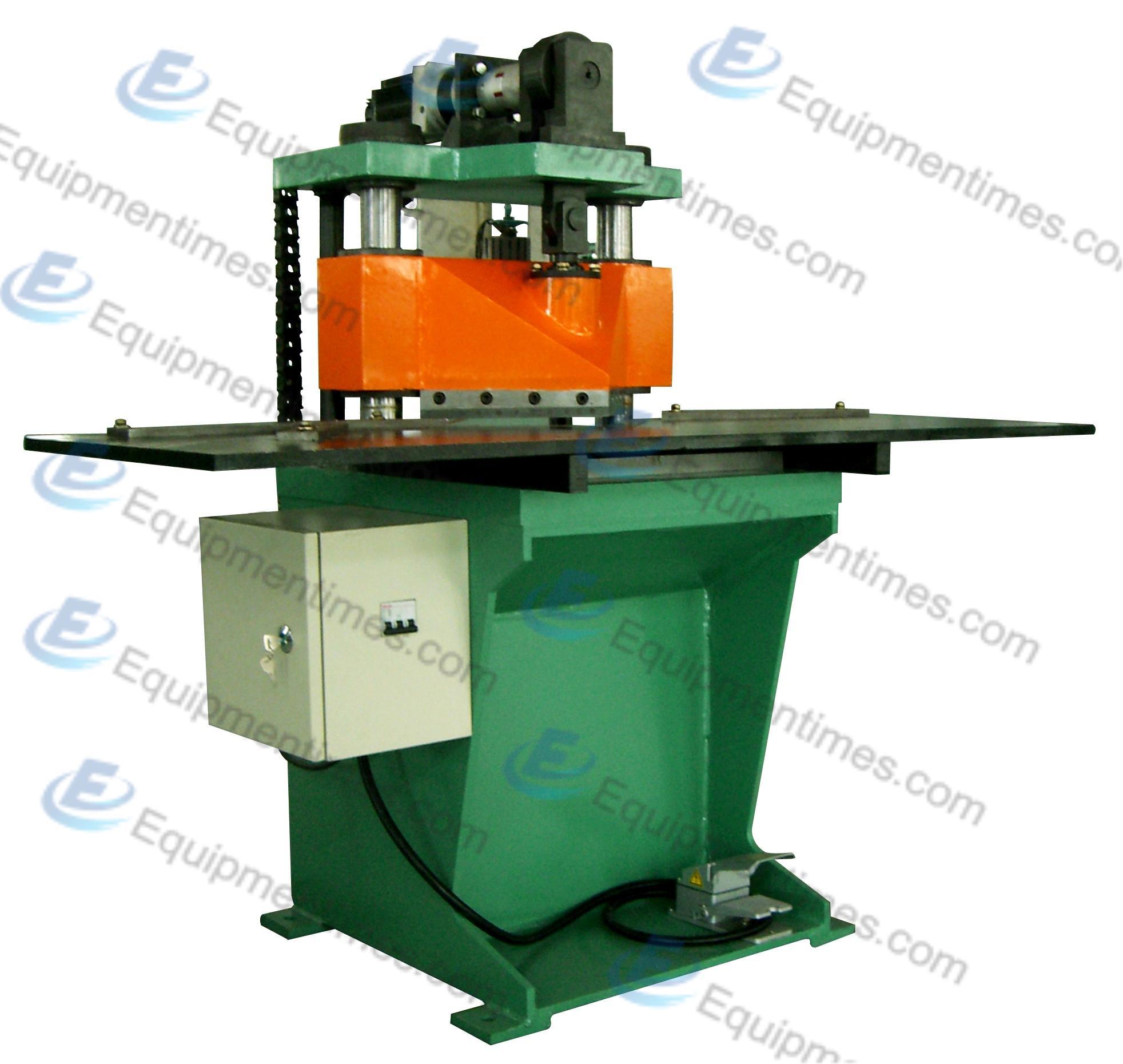 Электрический штамповочный пресс для производства V-образных отверстий