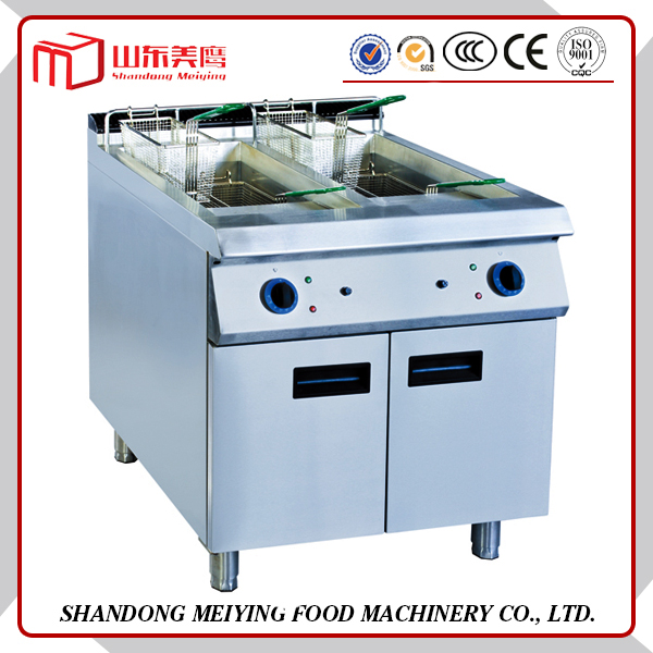 Free Standing Stainless Steel Deep Fryer