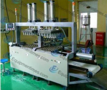 Полуавтоматическая машина для выпечки вафельных рожков