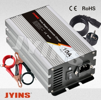 JYCH SERIES-AUTOMATIC 3 STAGES BATTERY CHARGER  JYCH-1210&2405