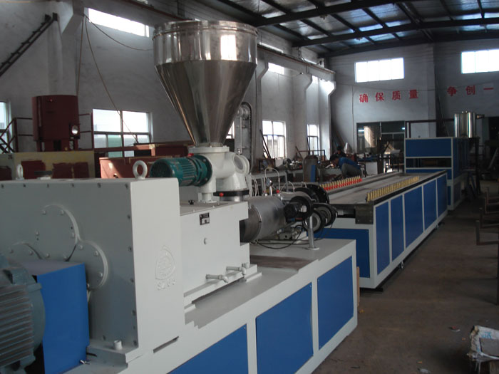 PVC Wood Profile Extrusion Machine