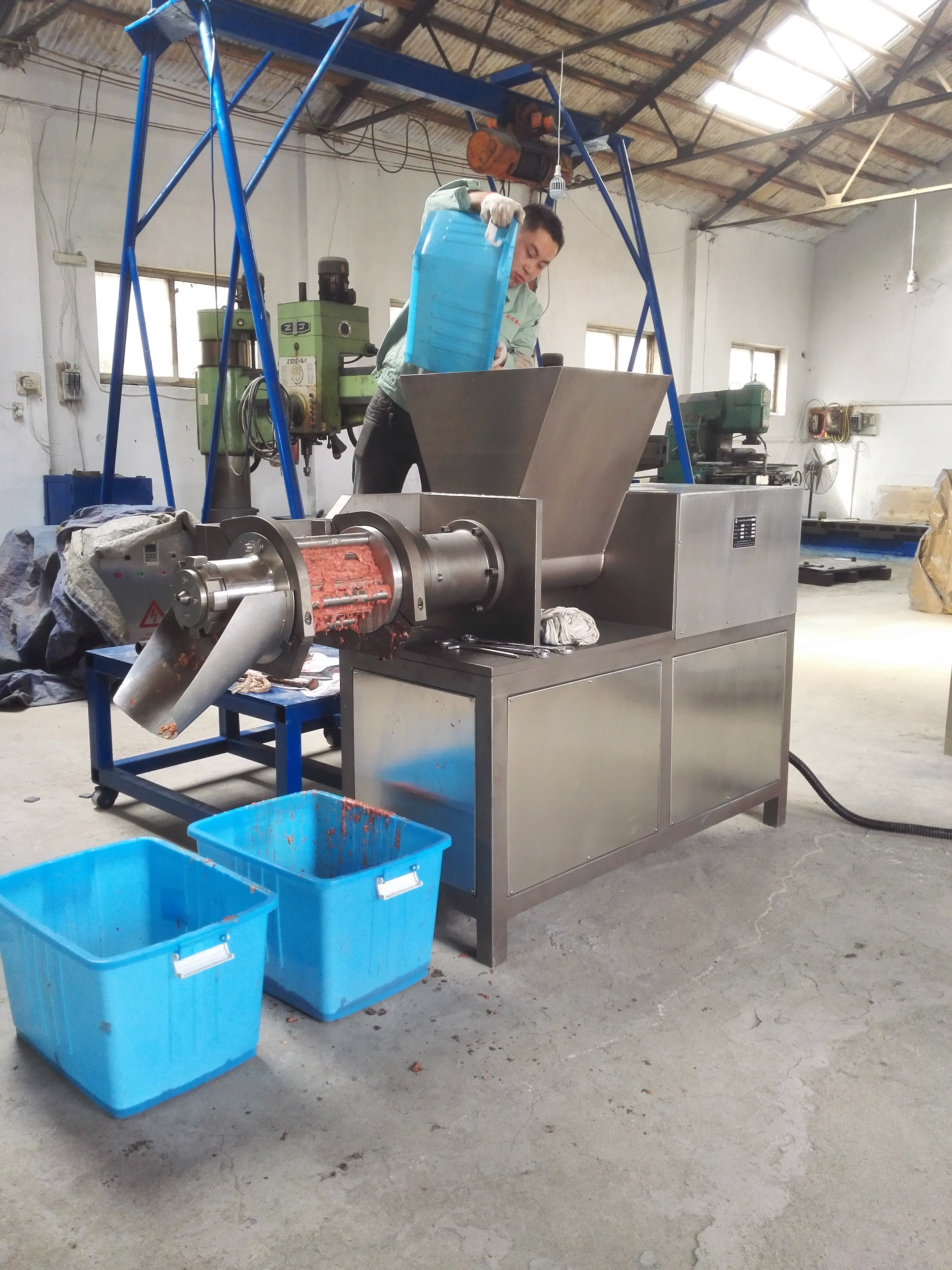 meat separator TLY3000 with CE certificate
