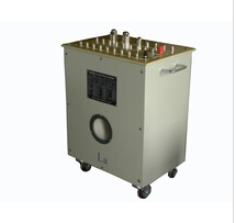 Precise current transformer with power supply