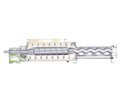 Netzsch single screw pump