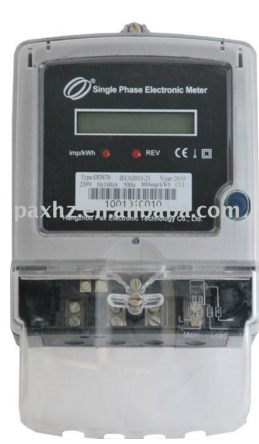 DDS70-B single phase energy meter