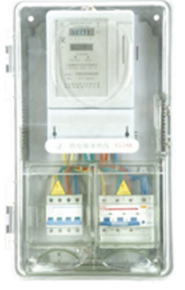 SC101-1D(K) Three Phase 1-position Meter Box