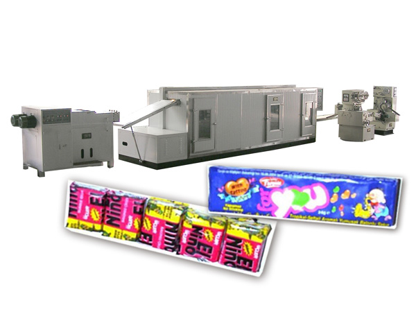 JJT-II DOUBLE-COLOR STICK BUBBLE GUM PRODUCTION LINE