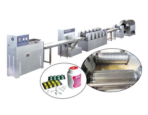 MT-300 XYLITOL (PILLOW TYPE) CHEWING GUM PRODUCTION LINE
