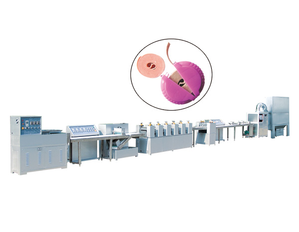 DDJ-310 LARGE ROUND CHEWING GUM PRODUCTION LINE