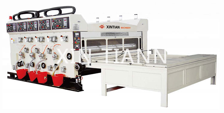 XinTian XT-L Series Flexo Printing Slotting Machine