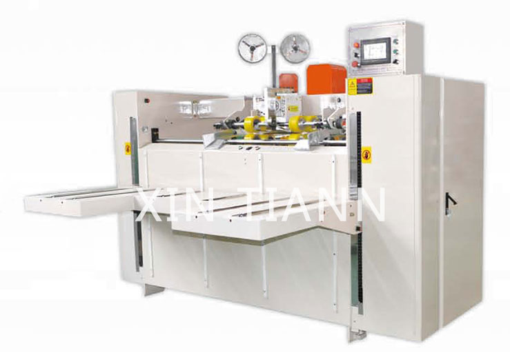 High Speed Double Servo Driving Semi Automatic Stitcher