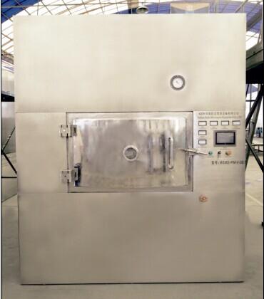 Microwave vacuum dryer