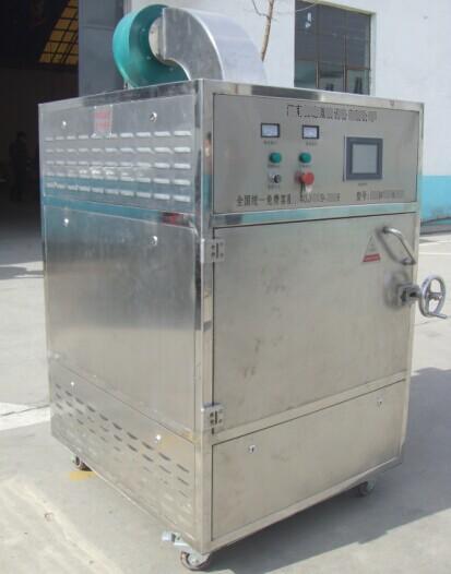 Box type microwave dryer