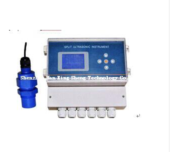 Wall-mounted Nullah FlowMeter for Measuring venturi canal or Parshall flume