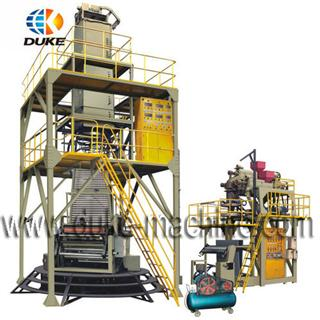 POF Three-layers Co-extrusion Film Blowing Machine