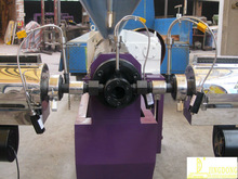 new SJZ80 Twin screw plastic egranules extruding machine for sale in JINGDONG
