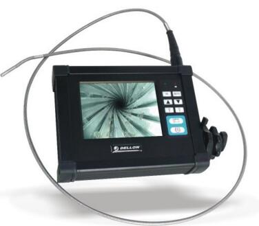 Portable Video Endoscope with 5.6'' LCD 8mm lens 4-way  6m testing cable