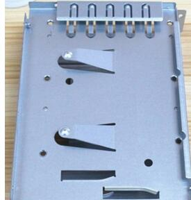 Custom sheet metal stamping and bending fabrication mild steel galvanizing parts