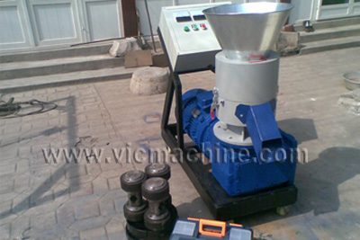 VIC pellet machine