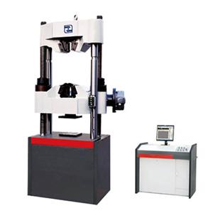 controlled electro-hydraulic servo universal testing machine