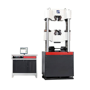 screen hydraulic universal testing machine