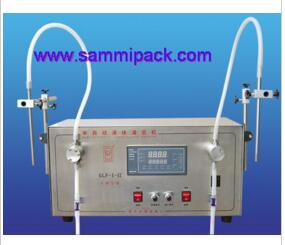 Double heads Gear pump liquid filling machine