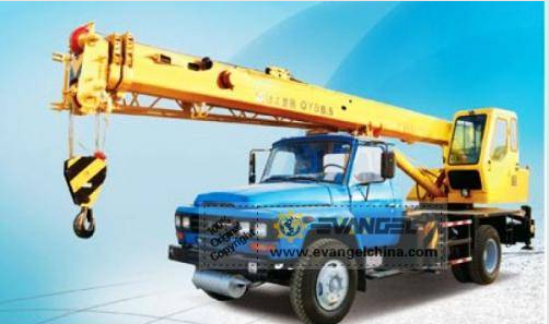 QY8B.5 Truck Crane