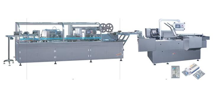 DZL-250S Automatic Vial/Ampoule(Double Feding)Packing Production Line