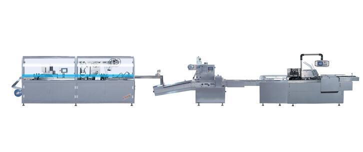 铝塑、枕式、装盒自动包装生产线 YBZ-250B