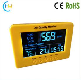 HCHO Temperature Humidity Air Quality Monitor Analyzer CO2 Sensor